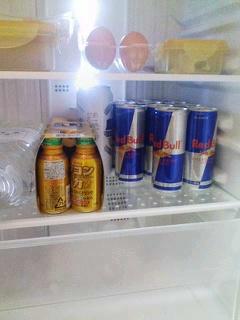 監督の家の冷蔵庫